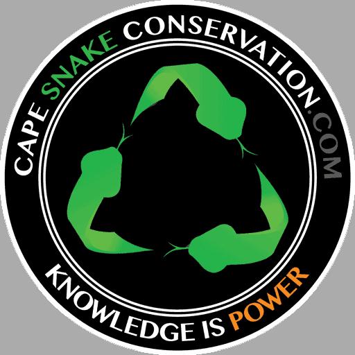 Cape snake conservation logo favicon